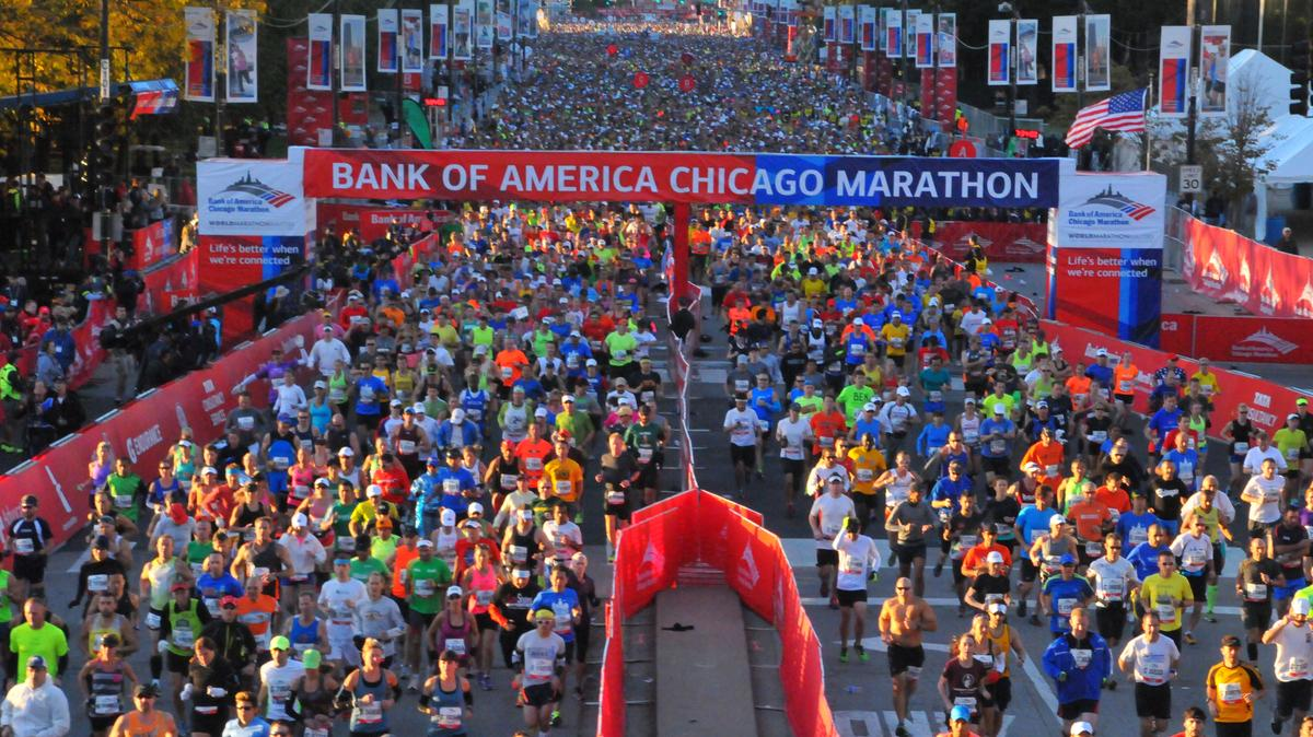 Bank Of America Chicago Marathon Creates Record Economic