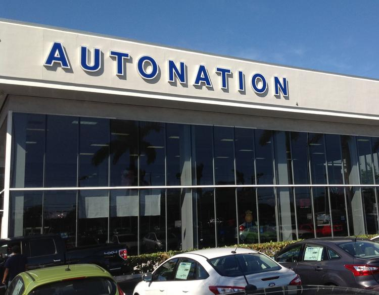 AutoNation renamed all dealerships to reflect the company brand in 2013.