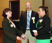 Patricia DeMarco, left, of DeMarco & Associates, and Scott Rusmisel and Keri Cimarolli of The Gateway Engineers Inc.