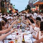 Diner en Blanc attracts 3,500 to Avenue of the Arts (Video)