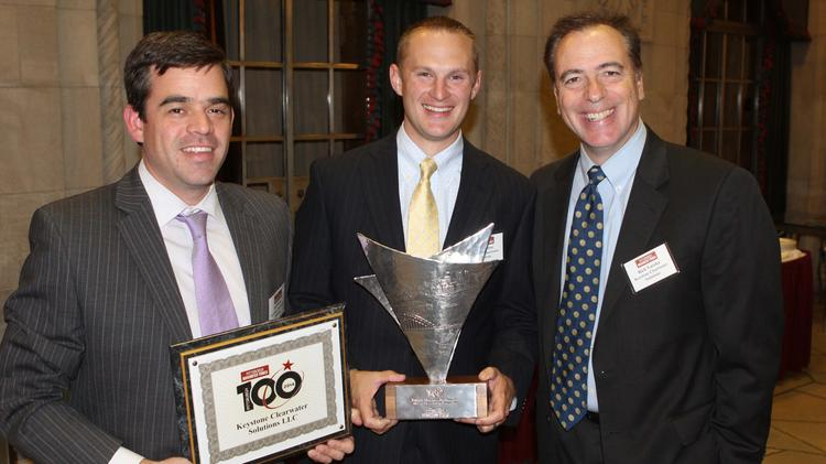 Keystone Clearwater Solutions was the number-one company on the 2014 Pittsburgh 100.