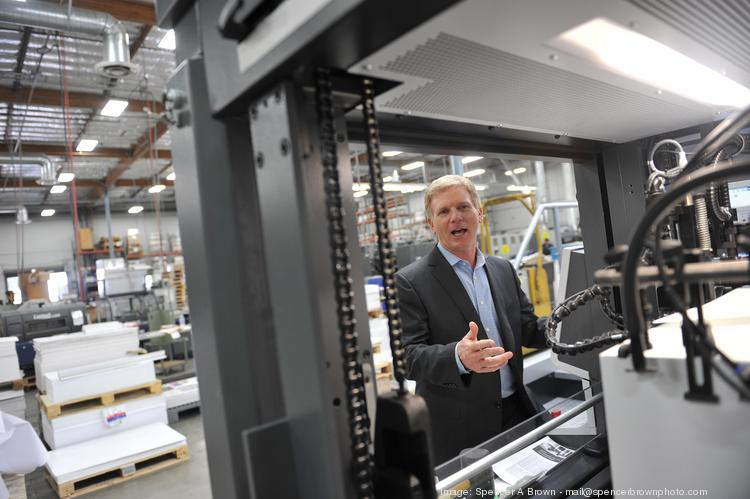 """""""I could see the writing on the wall,"""" said AMP founder Jeff Main, who nabbed a $5 million SBA loan to upgrade equipment."""