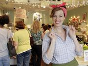 Kat Gordon, owner of Muddy's Bake Shop