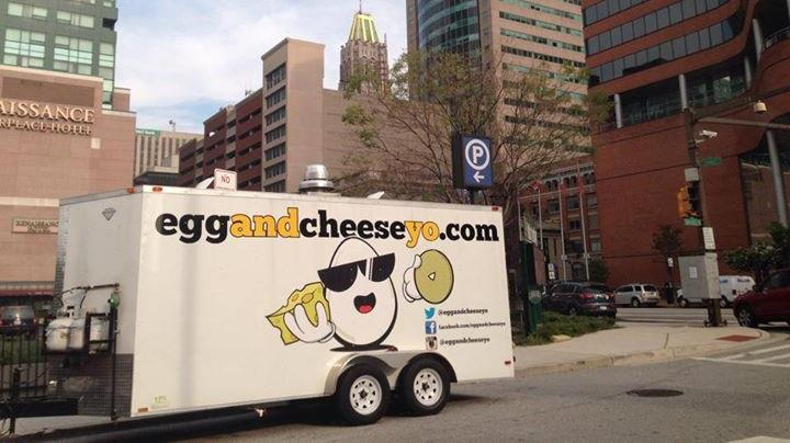 Ross Nochumowitz is selling Egg & Cheese Yo, a food truck that hit the Baltimore streets in April, for $39,000.