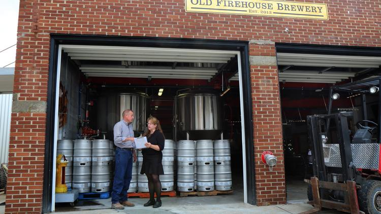 The Old FireHouse Brewery is located in a former fire station in Williamsburg, Ohio.