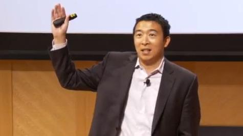 Entrepreneur Andrew Yang, the founder and CEO of Venture for America.