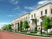 The three-story brownstones will have optional elevators, summer kitchens, terraces and jacuzzis.