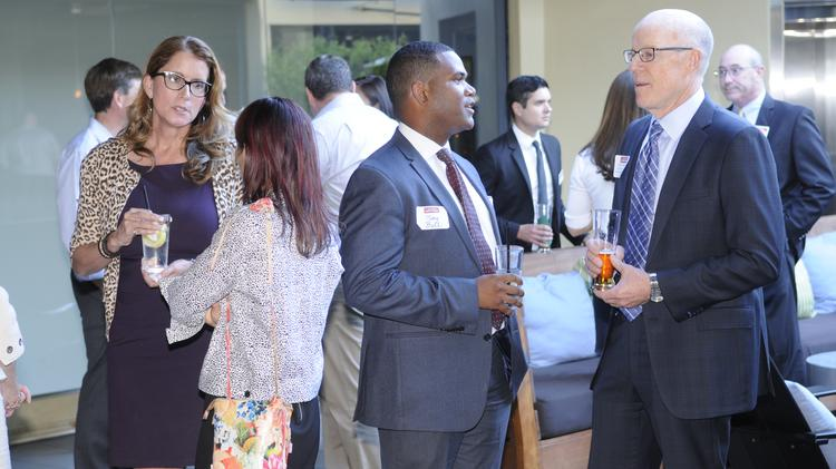 Attorneys and guests network at the Business Journal's Best of the Bar mixer at Mix Downtown on Thursday night. The mixer celebrated the Sacramento region's top attorneys.