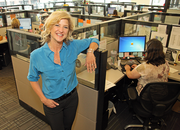 Ruby Receptionists CEO Jill Nelson celebrated Thursday as the company opened its second location, a 31,000-square-foot office in Beaverton.