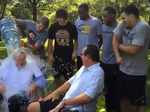 Here's the Charles Koch ice bucket challenge video