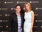 Mike Conlon, president of Cary-based Affordable Communities Group, with New York businesswoman Ivanka Trump, daughter of real estate mogul Donald Trump, at an economic summit event in June in New York City.