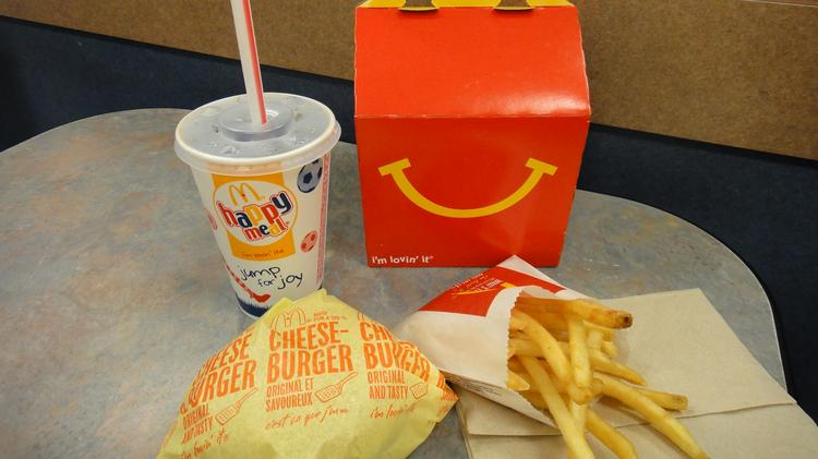 McDonald's Happy Meal is aimed a children, and a New York lawmaker wants to make them healthier or else prohibit including a toy.