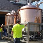 Hofbrauhaus on target for October opening with delivery of brewhouse