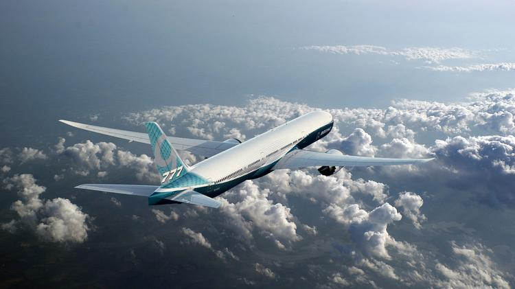 The Boeing Co. seems to be leaning on facilities outside of its Seattle-area stronghold for design work on its 777X passenger jet.