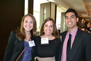 From Cvent, No. 10 on the list of large companies, Shelley Casey, from left, Christine Durakis, and Vinay Khetarpal.