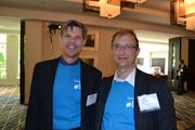 From Decisive Analytics Corp., No. 7 on the list of medium-sized companies, Lawrence Gresko, left, and David Golden.