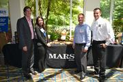 The team from Mars Drinks, a sponsor of the event.