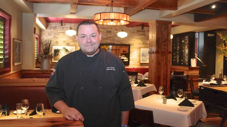Eric Carter, executive chef at the Providence New American Kitchen