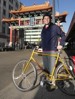 Rolling with Seattle's biking execs: <strong>Josh</strong> <strong>King</strong> of Avvo