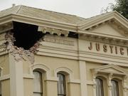 Earthquake damage in downtown Napa. Nothing can prevent earthquakes or other natural disasters, but there are steps that can minimize the impact on your business.
