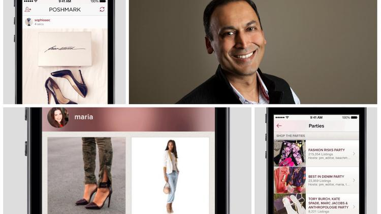 Poshmark founder Manish Chandra, who has bringing technology to shopping for a decade, has added a personalized feature to the mobile shopping app called PoshMatch.