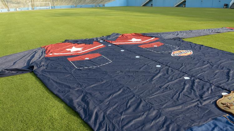 Big Tex will be wearing a new shirt to emphasize his Texas pride.