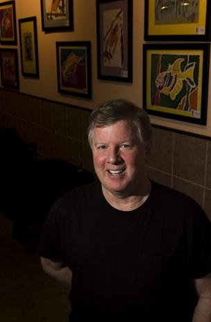 Downtown restaurant La Cena Owner Operator Jerry Moran.