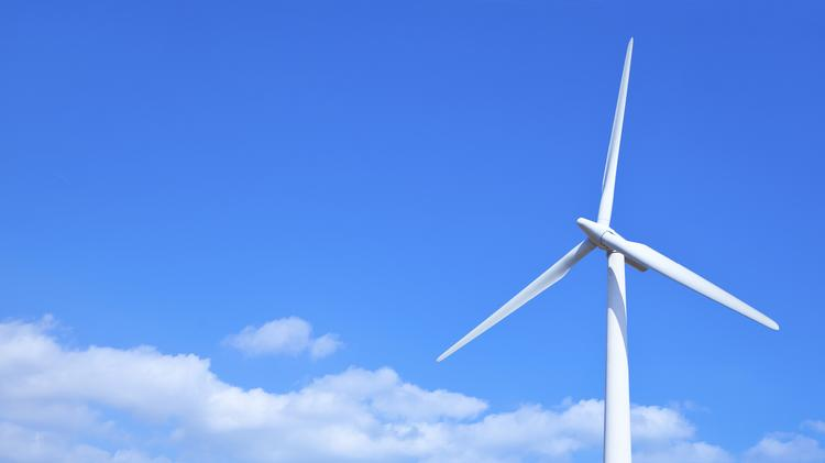 Wind turbines are an increasingly common sight as commercial wind farms proliferate.