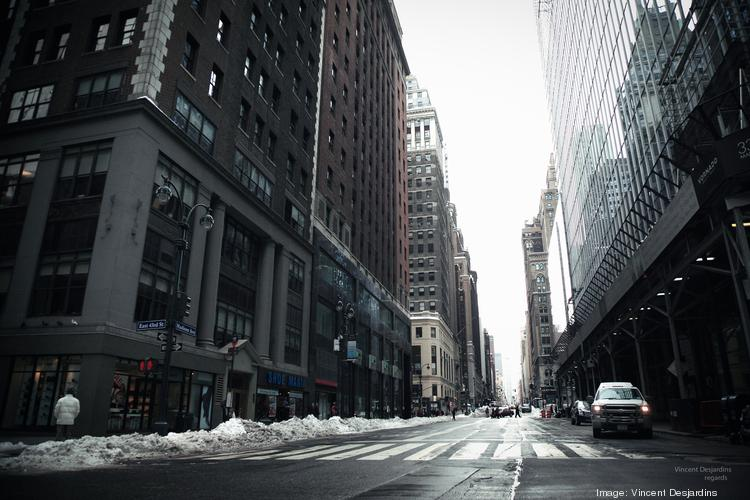 Madison Ave. and E. 43rd St., Midtown East.