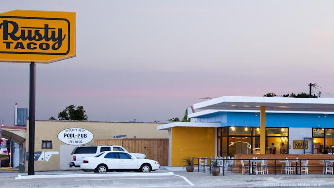 Rusty Taco has five locations in the Dallas area, along with locations in Minnesota and Colorado.