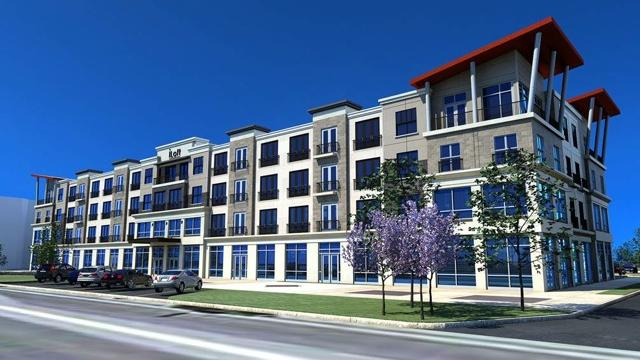 A rendering of the proposed iLoft at The Square development in West Chester.
