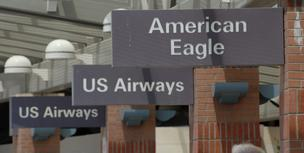 US Airways holds 21 percent of Albanys market, second to Southwest. American flew in and out of Albany through its American Eagle division, but terminated that service in 2008.