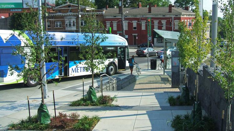 The Uptown Transit District is a $6.9 million project.