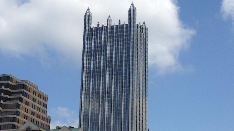 PPG Place in downtown Pittsburgh.