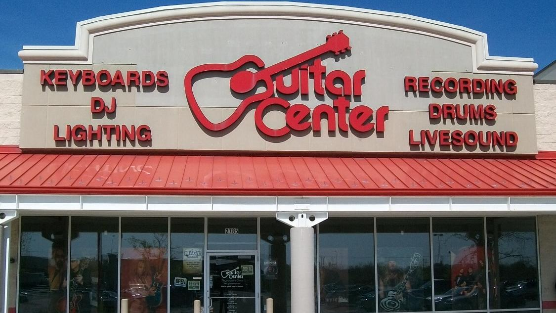 guitar center signs lease at cary 39 s parkside town commons to open third triangle store. Black Bedroom Furniture Sets. Home Design Ideas