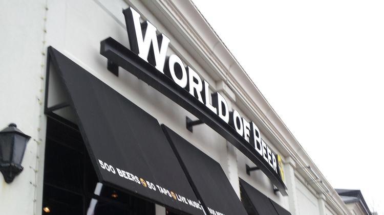 World of Beer came to Central Ohio in 2011. Click on the slideshow for photos of franchisees Mark Pottschmidt and Darren Greene, and views of the typical selection.
