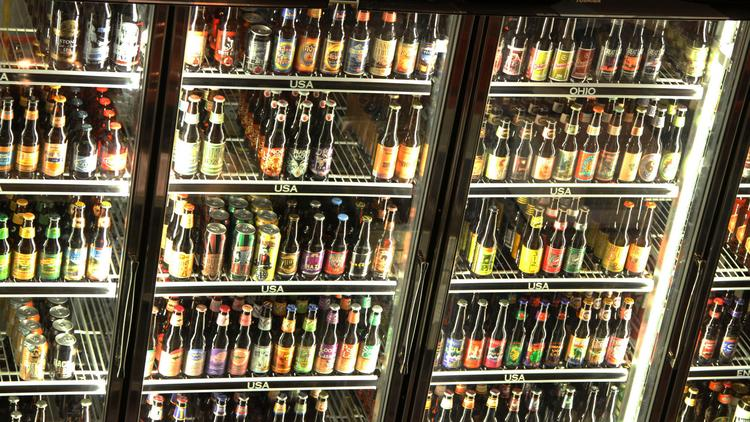 As its name implies, World of Beer features a large selection of beers — more than 500.
