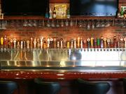 World of Beer also features a large selection of beers on tap.