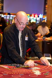 Blackjack and other table games are popular at the Hollywood Casino Columbus.