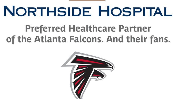 Northside Hospital is the new preferred health-care partner of the Atlanta Falcons, the hospital announced Aug. 27.