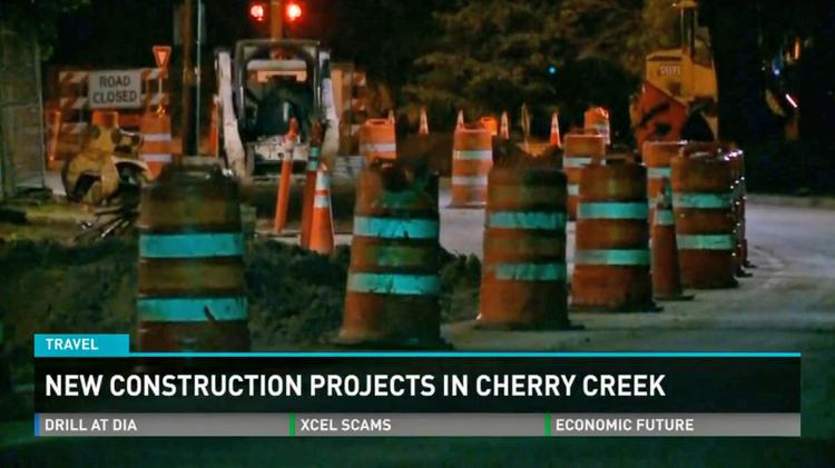 A summer of construction has made getting around the Cherry Creek North retail and restaurant district difficult.