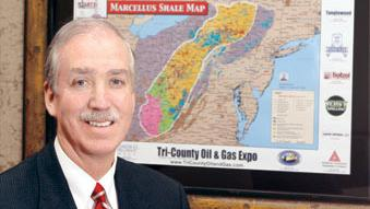 Pat McCune, president and CEO of Community Bank, will lead the merged financial institution and said he wants to build it into the premier bank in the Marcellus Shale region.