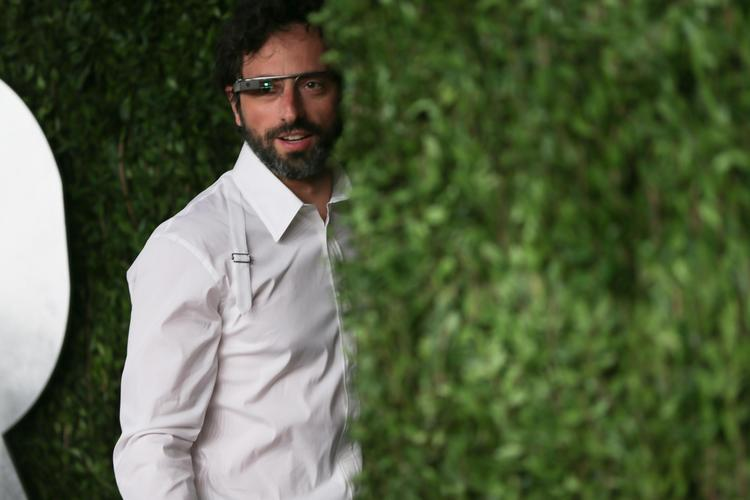 Google co-founder Sergey Brin showed up at the Vanity Fair Oscars party in February wearing Google Glass, Web-enabled glasses that could give users hands-free computer and smartphone capabilities.