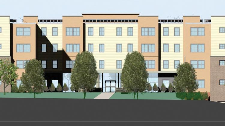 Omni Development is proposing a 330-bed residence hall for Hudson Valley Community College in Troy. The new housing will give students an on-campus living option — an increasingly common sight at two-year colleges — and could help the school recruit more international students.