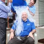 Johnson Controls CEO, Potawatomi general manager take the 'Ice Bucket Challenge'