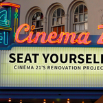 Cinema 21's Kickstarter campaign offers film fans a name-making premium