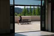 Ruby Receptionists new offices in Beaverton come with an expansive terrace.