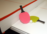 Ping pong is part of the culture at Ruby Receptionists' Beaverton offices.