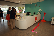 Bright colors and an open floor plan echo Ruby Receptionists' fun workplace spirit at its new Beaverton office.