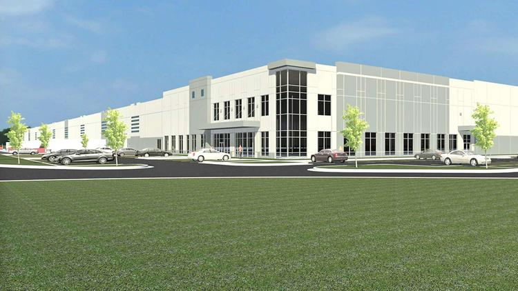 Building A in Park South at Richwood will be a more than 786,000-square-foot facility.
